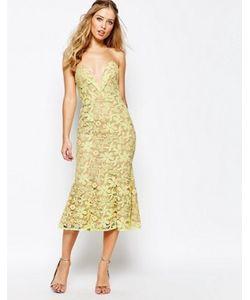 JARLO | Кружевное Платье Миди