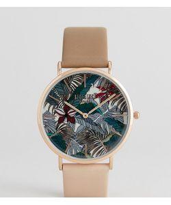 Reclaimed Vintage | Часы С Коричневым Кожаным Ремешком Inspired Hawaiian Эксклюзивно Для