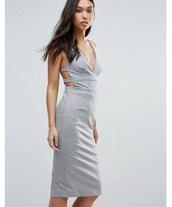 Tallulah | Облегающее Платье С Ремешками На Спине Talulah Walk On By