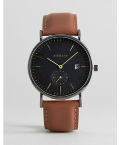 Breda | Classic Small Second Leather Watch