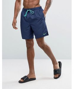 Nike | Темно Шорты Для Плавания С Тисненым Логотипом Core