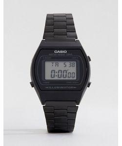 Casio | Черные Электронные Часы Из Нержавеющей Стали B640wb-1aef