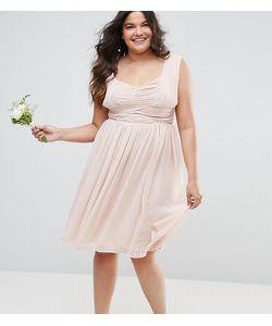 ASOS CURVE | Платье Миди С Оборками Wedding