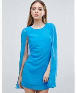 Madam Rage | Cape Mini Dress