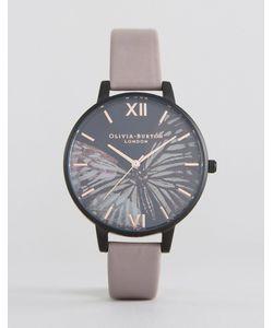 Olivia Burton | Часы С Фиолетовым Кожаным Ремешком И Большим Циферблатом After