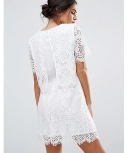 Amy Lynn | Кружевное Платье С Короткими Рукавами