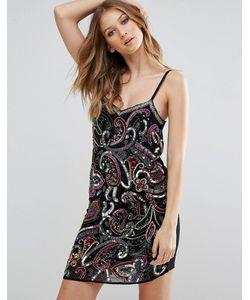 Glamorous | Платье На Бретельках С Пайетками