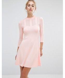Miss Selfridge | Ажурное Короткое Приталенное Платье