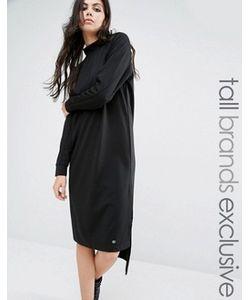 Noisy May Tall | Трикотажное Платье Миди С Высоким Воротом И Длинными Рукавами Noisy May