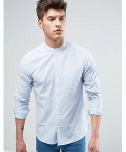 Solid | Рубашка Классического Кроя В Полоску С Воротником На Пуговице