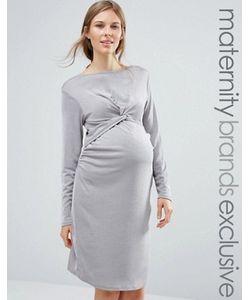 Bluebelle Maternity | Платье Для Беременных С Декоративным Узлом