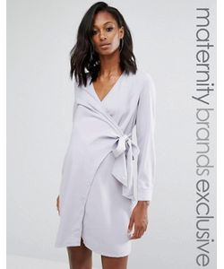 Missguided Maternity | Платье-Рубашка С Запахом Для Беременных