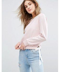 Miss Selfridge | Tie Side Sweatshirt