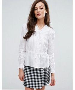 Fashion Union   Рубашка На Завязке Спереди