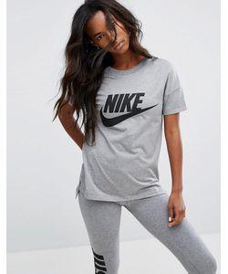 Nike | Футболка С Крупным Логотипом Signal
