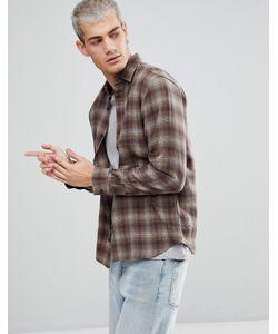 Selected Homme | Фланелевая Рубашка Классического Кроя В Клетку