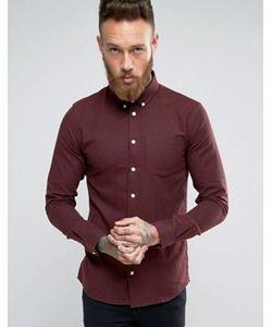 Minimum | Красная Рубашка Классического Кроя