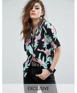 Motel | Гавайская Рубашка С Цветочным Принтом