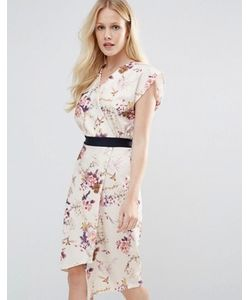 Closet London | Платье С Запахом И Цветочным Принтом Closet