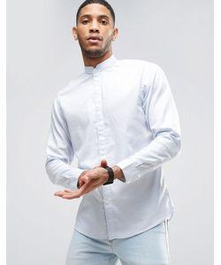 Selected Homme | Узкая Рубашка С Воротом На Пуговице