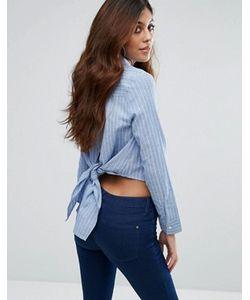 Unique 21 | Рубашка С Вышивкой И Завязкой На Спине Unique21