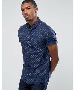 Burton Menswear | Облегающая Рубашка С Принтом