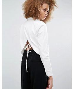J.O.A | Рубашка С Открытой Спиной