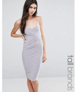Missguided Tall | Платье Миди На Бретельках