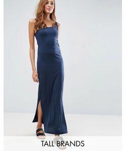 Vero Moda Tall | Трикотажное Платье Макси