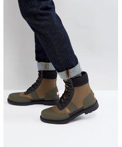 Hunter | Ботинки Со Шнуровкой Original Comando