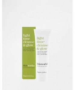 this works | Средство Для Умывания Light Time Cleanse Glow 75