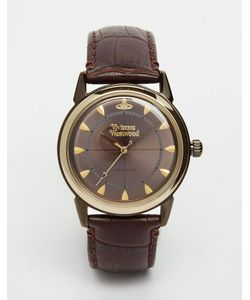 Vivienne Westwood | Часы С Кожаным Ремешком Grosvenor Ii Vv064gdbr