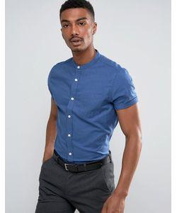 Burton Menswear | Зауженная Оксфордская Рубашка С Короткими Рукавами