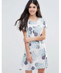 Traffic People | Цельнокройное Платье С Крупным Цветочным Принтом