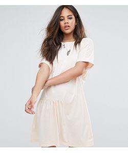 Noisy May Tall | Платье Миди С Асимметричным Краем