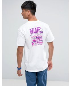 Huf | Футболка С Принтом На Спине