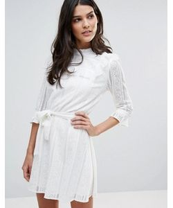 Liquorish | Кружевное Платье С Длинными Рукавами