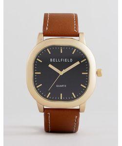 Bellfield | Часы С Коричневым Ремешком