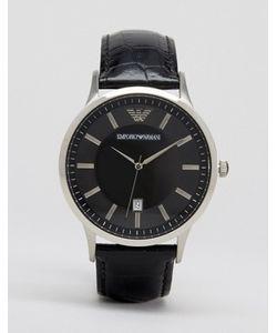 Emporio Armani | Наручные Часы С Кожаным Ремешком Ar2411