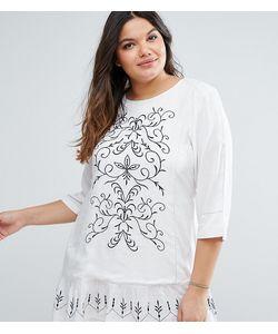 Diya | Платье С Вышивкой Plus