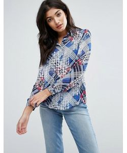 Jasmine | Рубашка С Клетчатой Вставкой