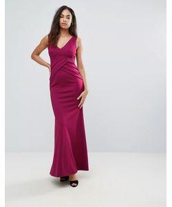 Jessica Wright | Платье Макси С Глубоким Вырезом