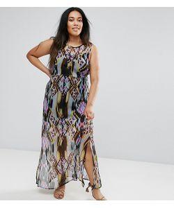 Diya | Платье Макси С Принтом