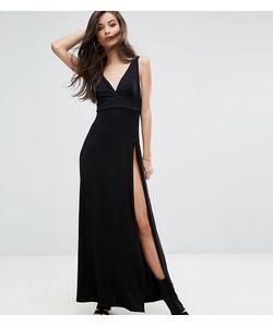 ASOS PETITE | Платье Макси С Высоким Разрезом