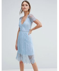 Club L | Кружевное Платье Миди
