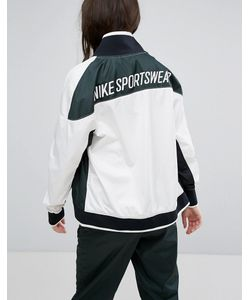 Nike | Зеленая Спортивная Куртка На Молнии Archive