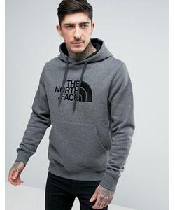The North Face | Меланжевое Худи С Большим Логотипом Drew Peak