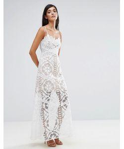 aijek | Кружевное Платье Макси
