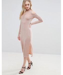 Glamorous | Платье С Открытыми Плечами И Вырезом Капелькой