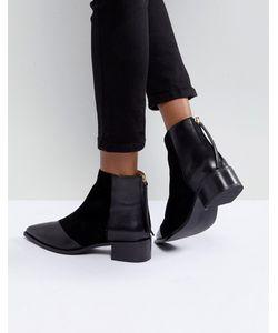 OFFICE | Кожаные Ботинки С Острым Носком Amplify